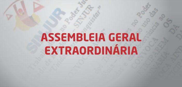 Sinjur realizará Assembleia Geral Extraordinária nesta sexta-feira (28/4)