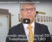 Aprovado reajuste salarial 2017 – Trabalhadores do TJRO