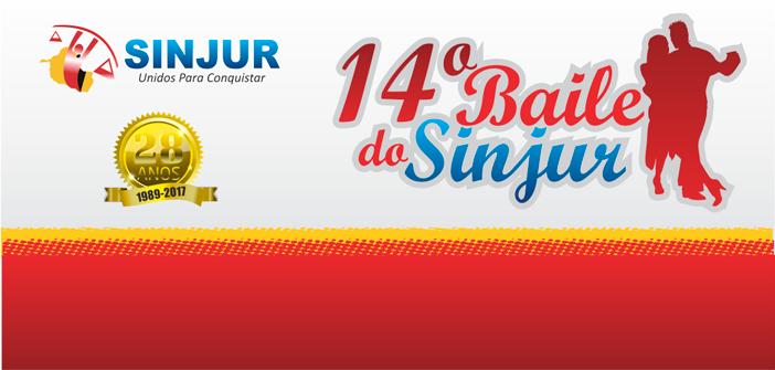 Baile do Sinjur será dia 28/10 (sábado)
