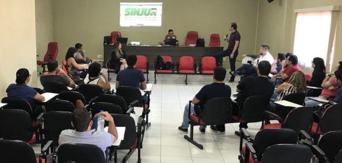 Sinjur reúne Sistema Diretivo para discutir temas importantes à categoria