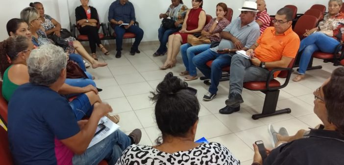 Aposentados do Judiciário fazem reunião no Sinjur
