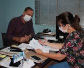 Sindicatos entregam ao deputado Follador, documento com reivindicações sobre a suspensão da Lei dos consignados