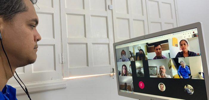 SINJUR participa de vídeoconferência com a cúpula do TJ/RO, buscando resolução das prioridades de seus filiados.
