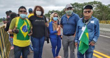 Servidores do Judiciário entregam pedido da transposição à assessoria do presidente Bolsonaro