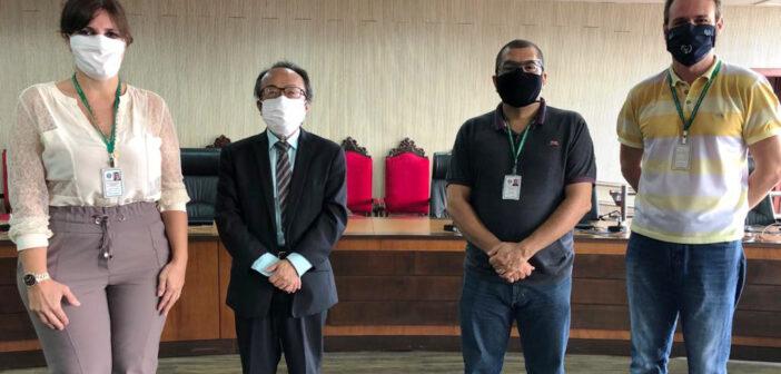 Diretoria do SINJUR se reúne com a cúpula do TJ/RO para tratar do PCCS e de reajuste salarial