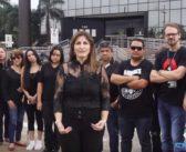 Protesto dos servidores do Judiciário no dia 14/10