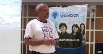 Servidor do Judiciário expõe opinião na Semana do Servidor Público